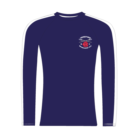 Hereford Rowing Club Long Sleeve Navy Baselayer