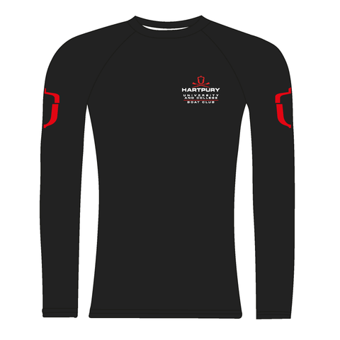 Hartpury University & College BC Black Long Sleeve Baselayer