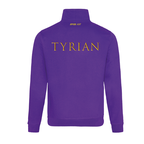 (Same Day Dispatch) Tyrian Quarter Zip