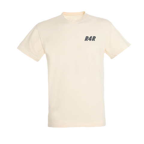 R4R Natural cotton T shirt