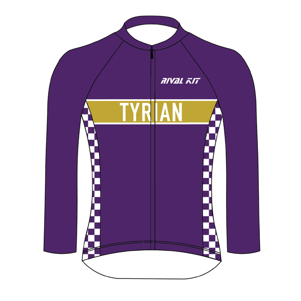 Tyrian Cycling Long Sleeve Jersey