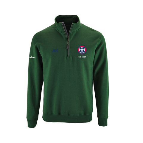 The University of Edinburgh Cricket Club Quarter Zip