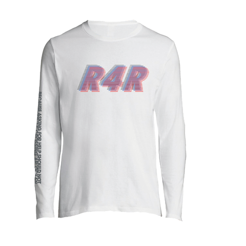 R4R retro cotton Long Sleeve T shirt