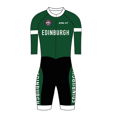 Edinburgh University Cycling club Pro skinsuit