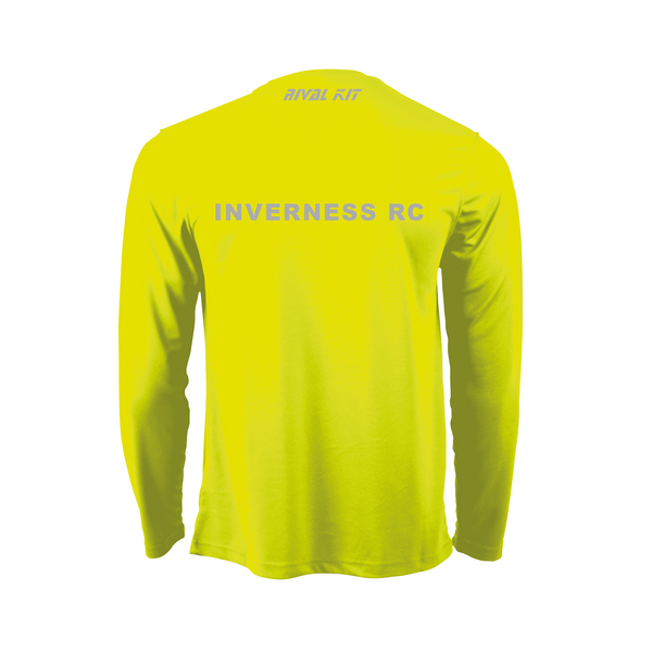 Inverness Neon Long Sleeve Gym T-shirt