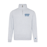 RTHM Grey Quarter Zip