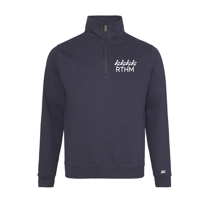 RTHM Navy Quarter Zip
