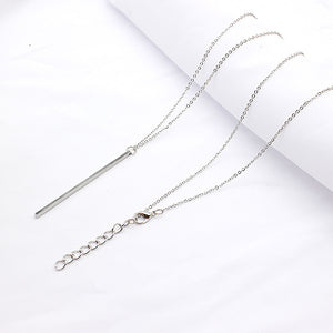 Leo Womens Long Link Chain Pendant