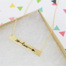 Leo Womens Love Arrow Necklace