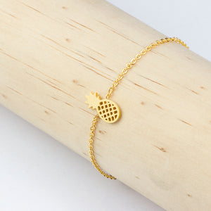Leo Womens Pineapple Bracelet