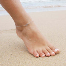 Leo Womens Anchor Chain Anklet