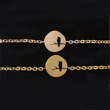 Leo Womens Bird On A Branch Bracelet