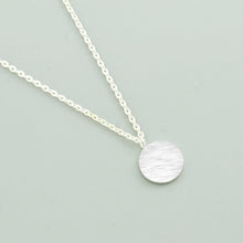 Leo Womens Circle Disk Necklace