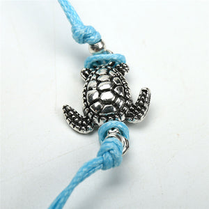 Leo Turtle Cord Anklet