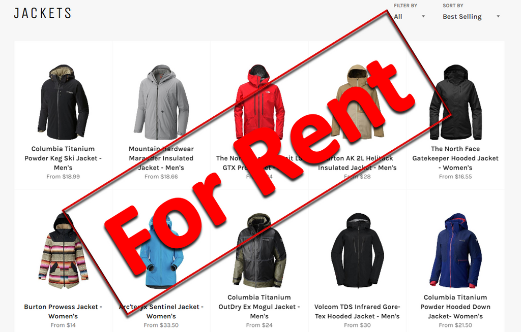 Re-Think Owning Ski Gear – Rent the Ski Clothes You Need