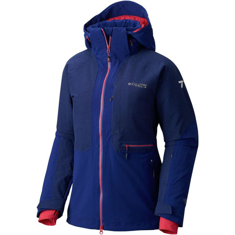 Columbia Titanium Powder Hooded Down Jacket- Women's
