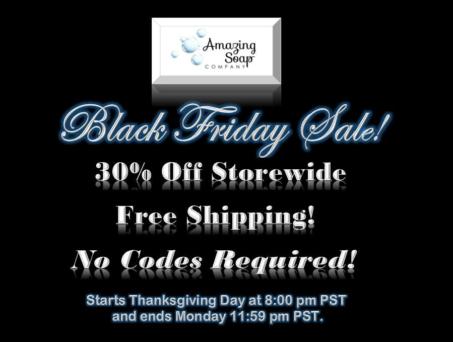 Black Friday Sale 30% off