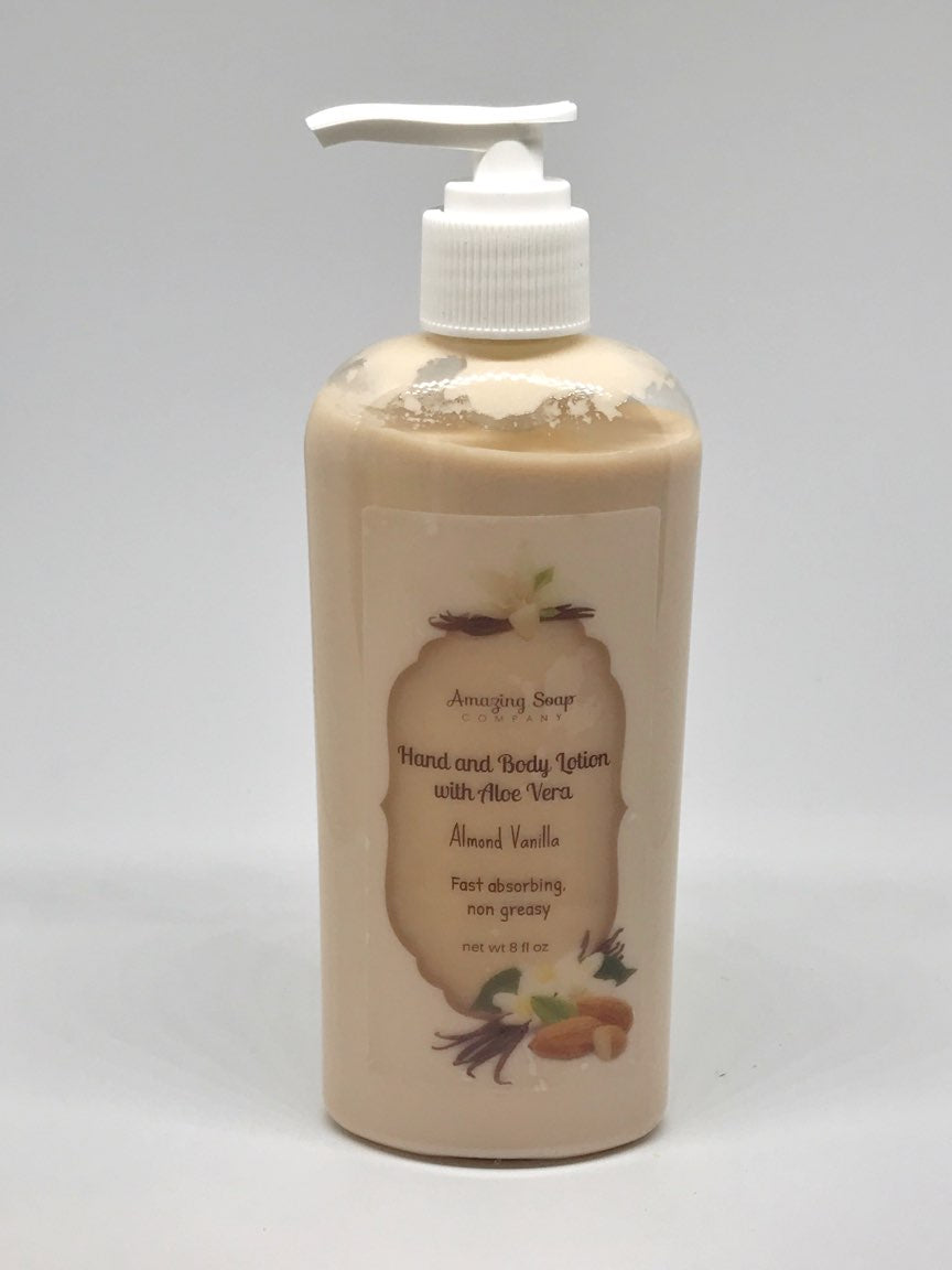 Almond Vanilla Lotion