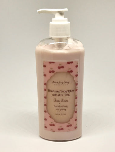 Cherry Almond Lotion - Amazing Soap Company