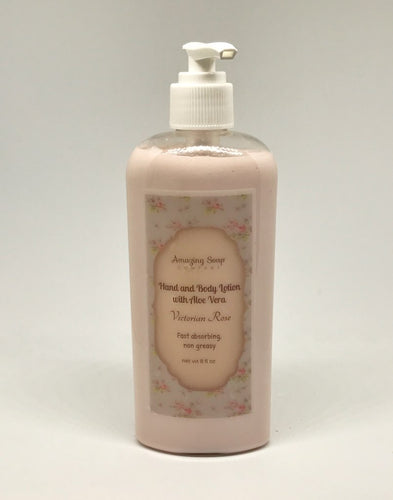 Victorian Rose Lotion