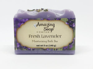Fresh Lavender Soap - on clearance! - Amazing Soap Company