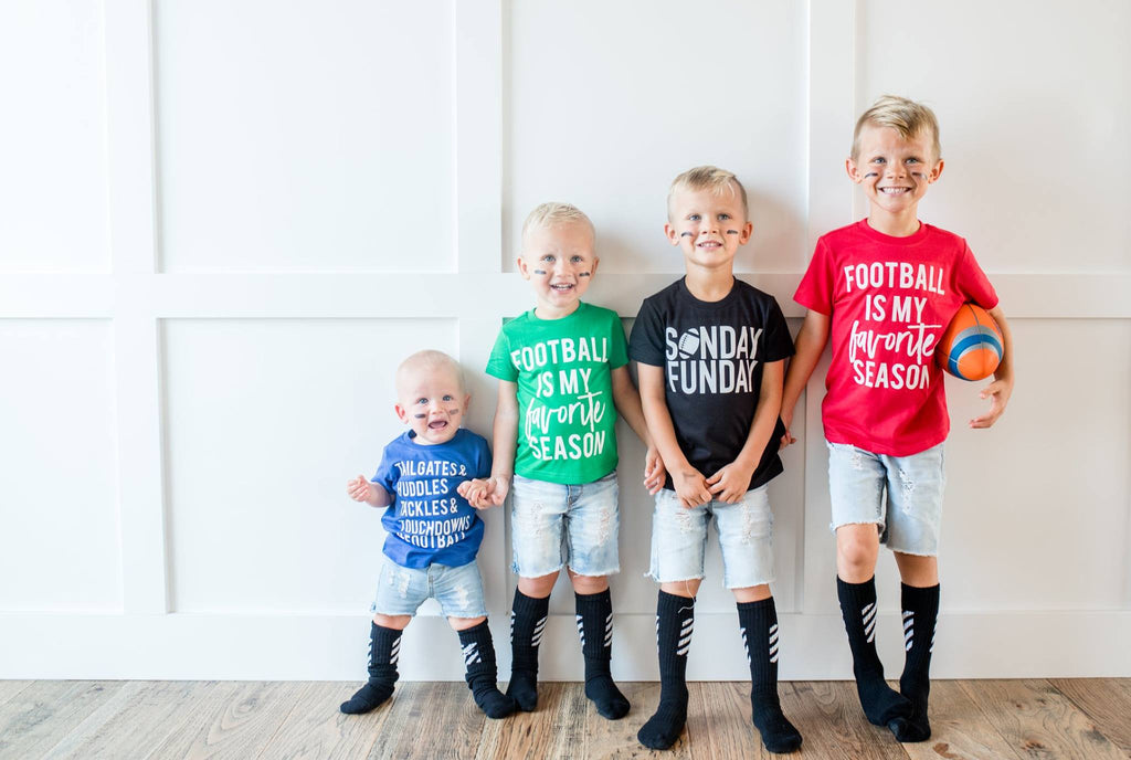 football tees for kids