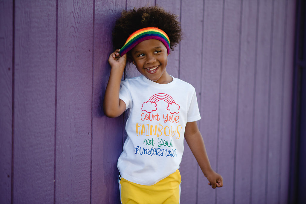 rainbow shirt for kids