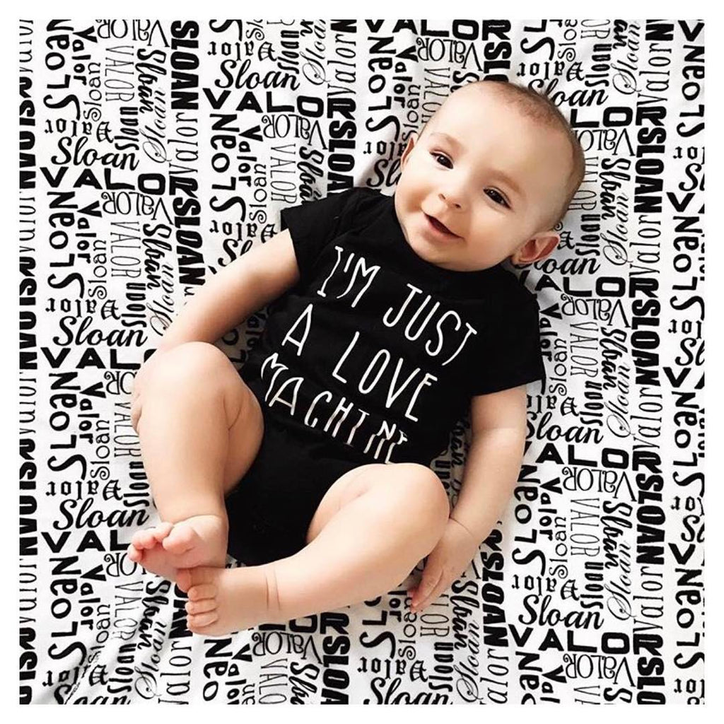 I'm Just a Love Machine - Baby Bodysuit