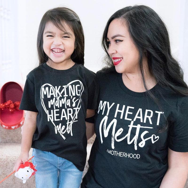 Metling Mama's Heart - Shirt Set