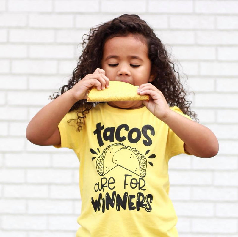 Tacos are for Winners - Kids Tee