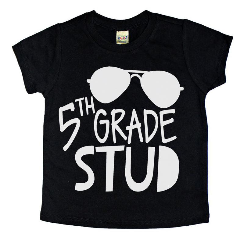 5th Grade Stud - Kids Tee