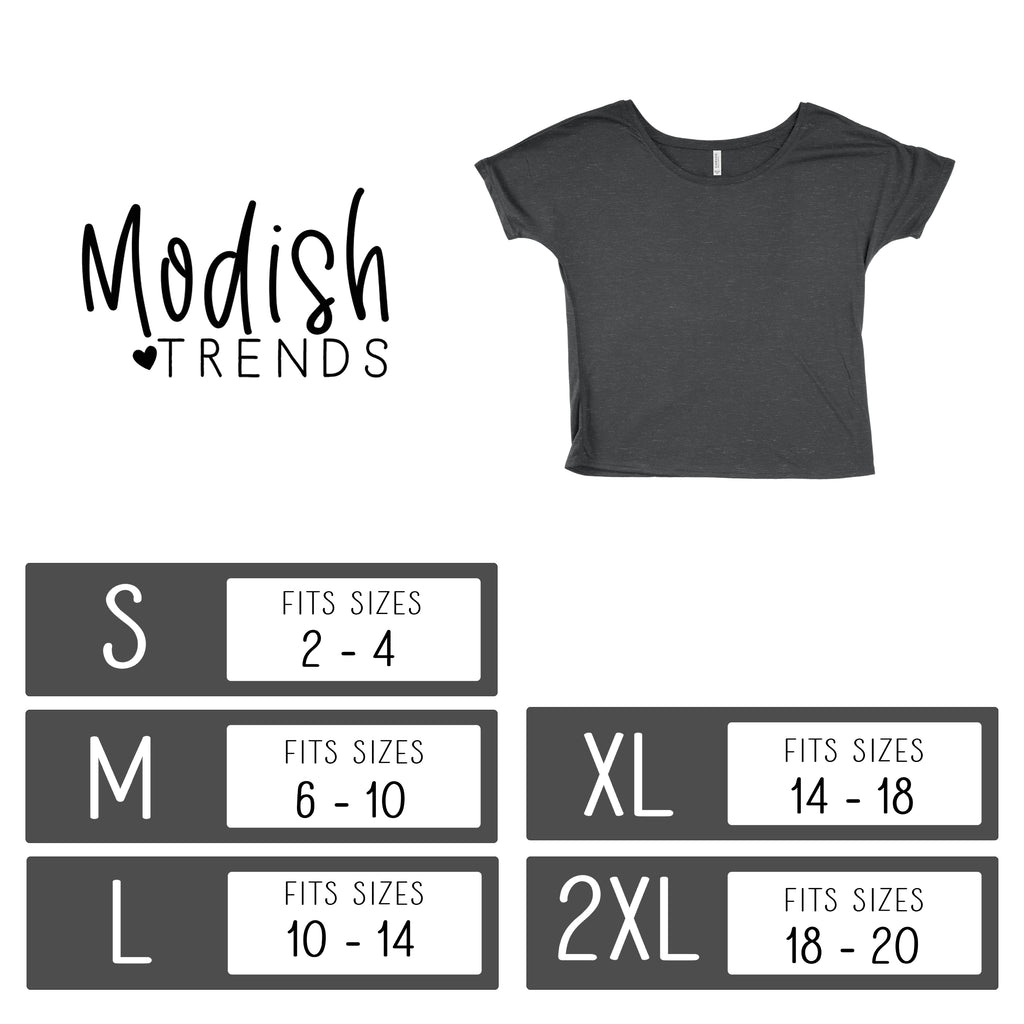 Mama Knows Best - Black Slouchy Tee