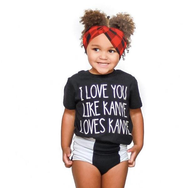 I Love You Like Kanye Loves Kanye  - Kids Tee