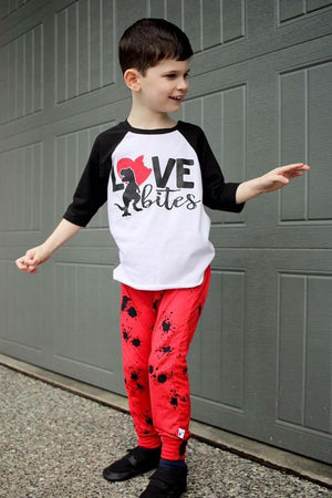 Love Bites - Kids Raglan