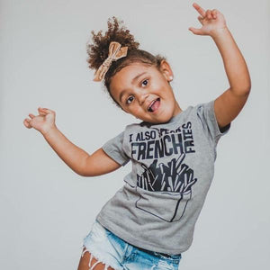 I Also Speak French Fries  - Kids Tee