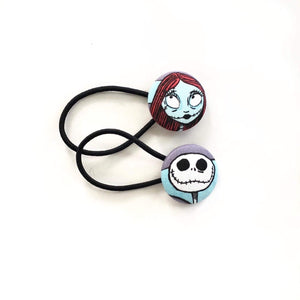 Jack & Sally Hair Tie Set