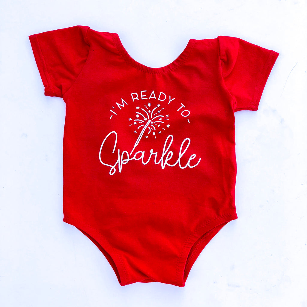 I'm Ready To Sparkle - Kids Leotard