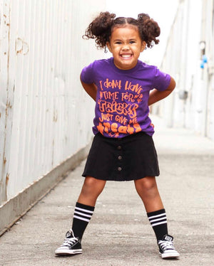 Just Give Me the Treats - Kids Halloween Tee
