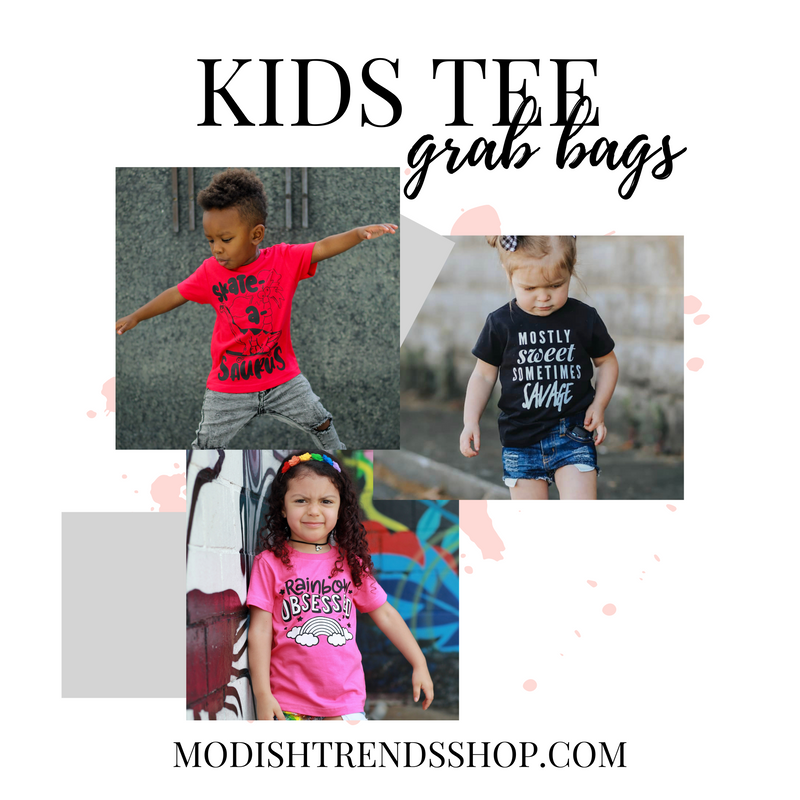Kids Tee Grab Bags *FINAL SALE*