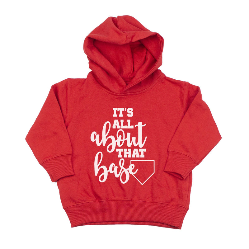 It's all About that Base - Kids Fleece Hoodie