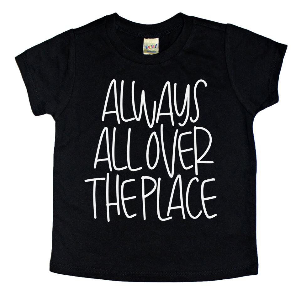 All Over the Place - Kids Tee