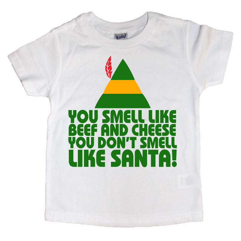 Buddy the Elf Beef & Cheese - Kids Holiday Tee