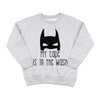 My Cape is in the Wash - Kids Fleece Pullover
