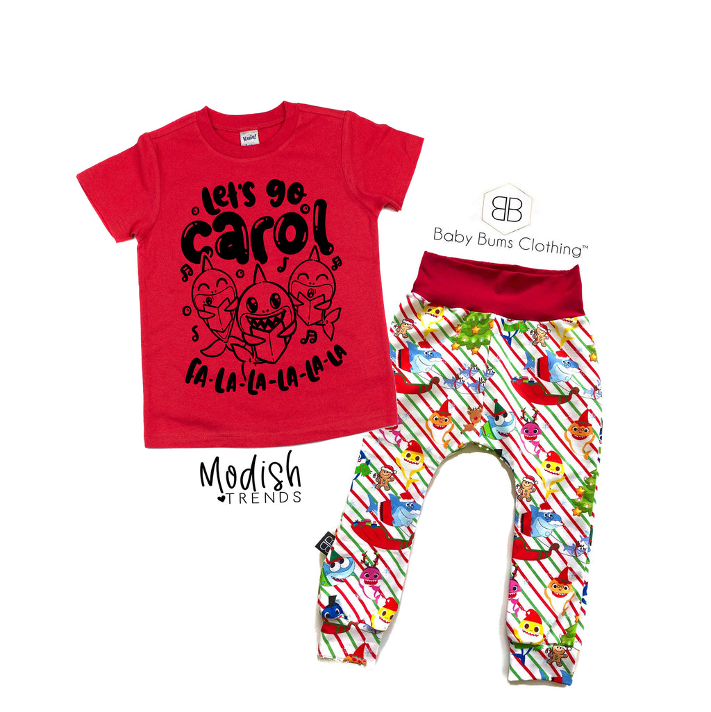 Let's Go Carol - Kids Holiday Tee