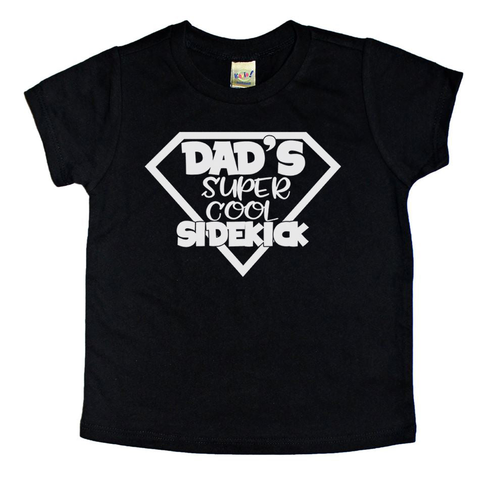 Dad's Super Cool Sidekick - Kids Tee