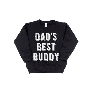 Dad's Best Buddy - Kids Fleece Pullover