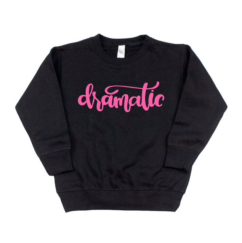 Dramatic neon pink- Kids Fleece Pullover