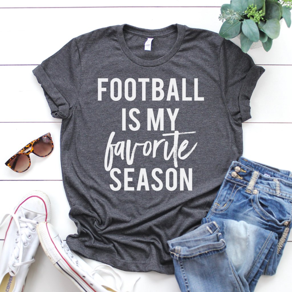 Football is my Favorite Season - Adult Tee