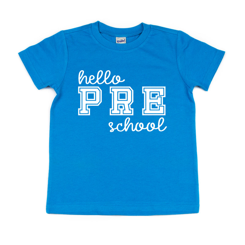 kids back to school preschool shirt funny kids school shirt pre k tshirt
