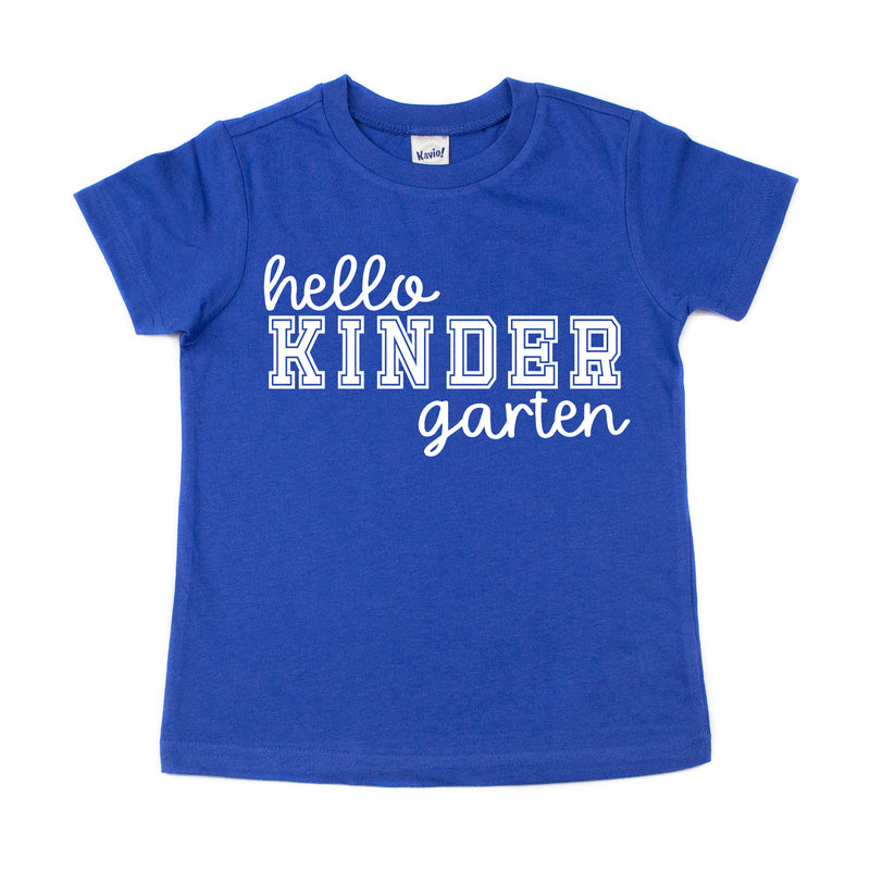 Hello Kindergarten - Kids Tee